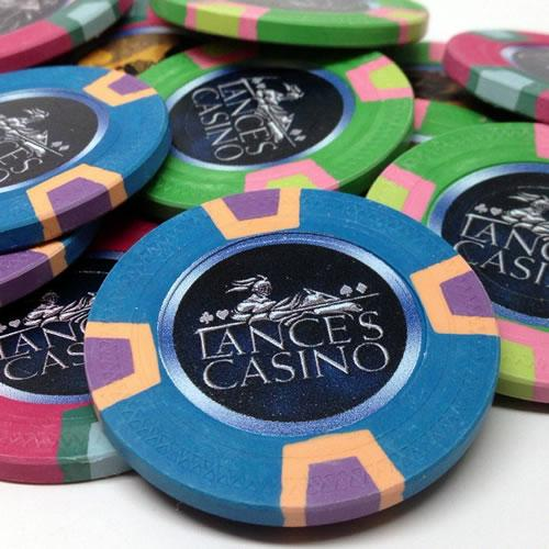 Custom Clay Poker Chips