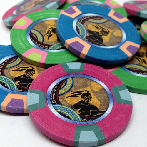 Custom Full Color Printed Chips
