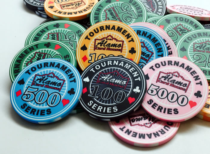 10 Gram Ceramic Custom Poker Chips - Full Custom Design