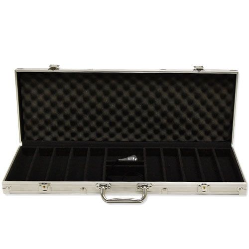 500 Capacity Aluminum Poker Chip Case