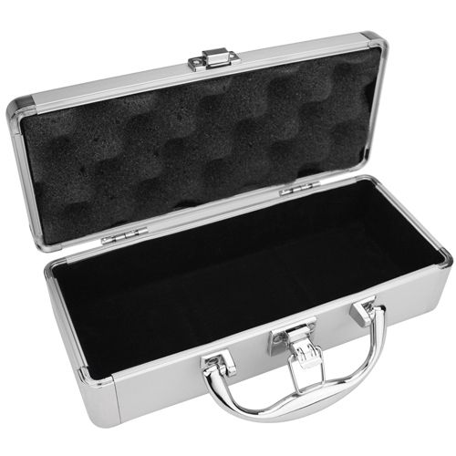60 Capacity Aluminum Plaque Case