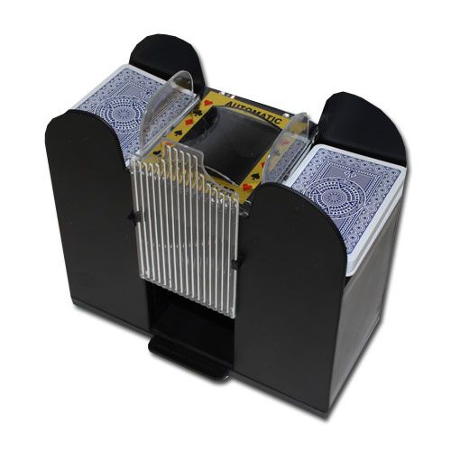 6 Deck Playing Card Shuffler