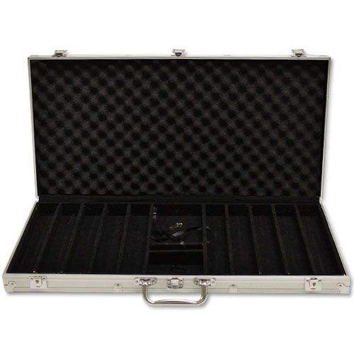 750 Capacity Aluminum Poker Chip Case