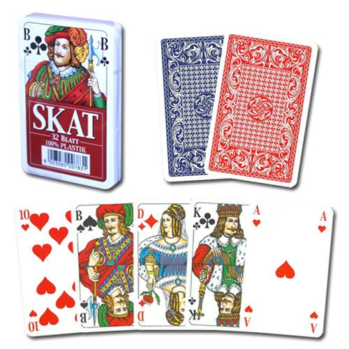 Modiano Deck of Red Skat Playing Cards