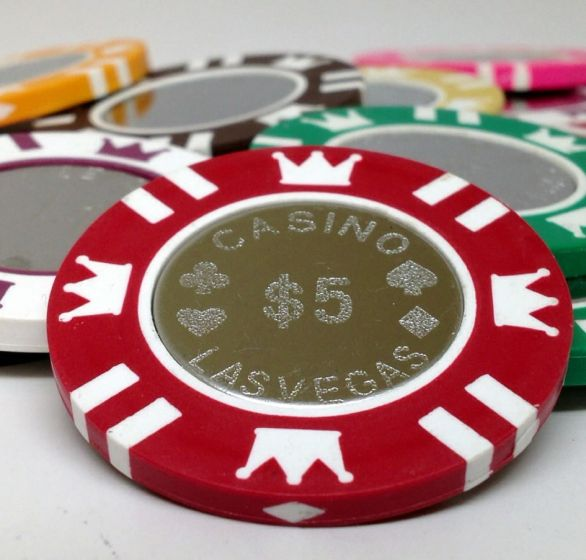 Coin Inlay 15 Gram Clay Poker Chips