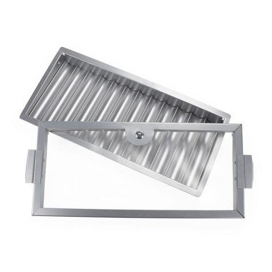 12 Row Metal Casino Table Chip Tray with Cover and Lock