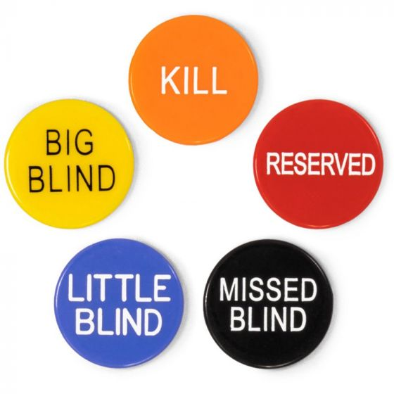 1.25 inch Button Combo Pack (Little, Big, Kill, Miss, Reserve)