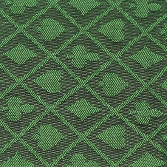 1 Foot Roll of Green Two-Tone Poker Table Speed Cloth