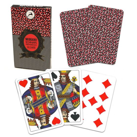 Modiano Deck of Schnaps Preference Cards