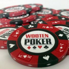 Prestige Series Custom Poker Chip - Wooten
