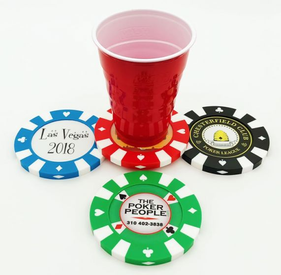 Giant Poker Chips - Sample pack