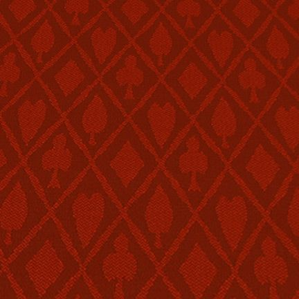 Red Suited Speed Cloth - Polyester, 1 Foot x 60 Inches