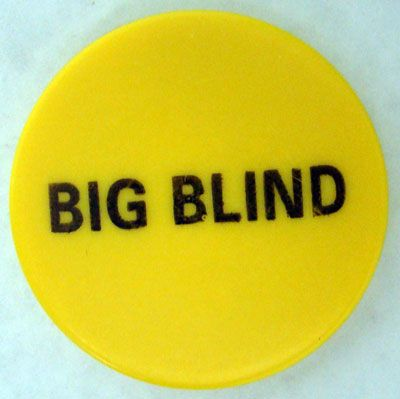 "Big Blind Button 2"" Diameter"