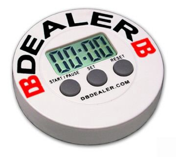 DB Timer Dealer Button