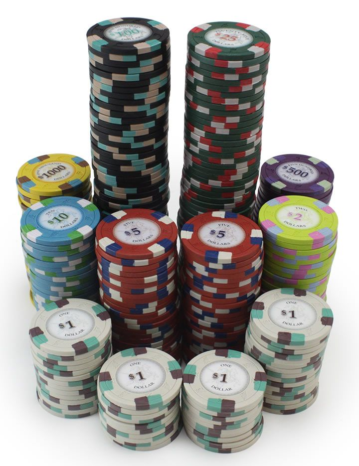 Details about  /NEW 100 Brown $25000 Poker Knights 13.5 Gram Clay Poker Chips Buy 3 Get 1 Free