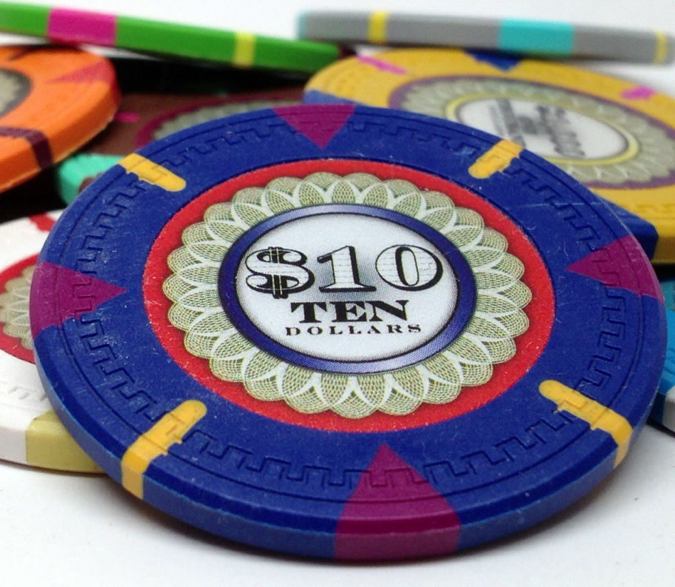 13.5 Gram Mint series Clay Poker Chip