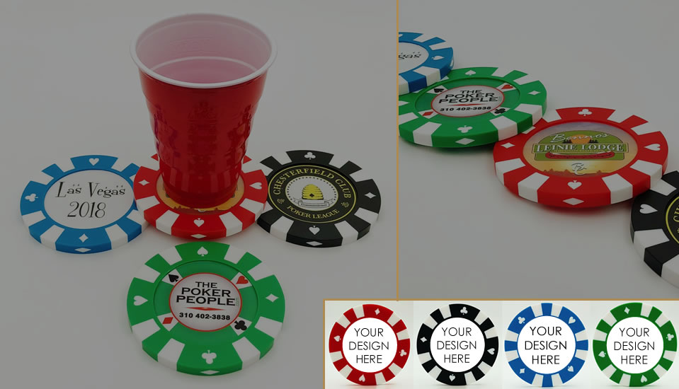 Custom Giant Poker Chips