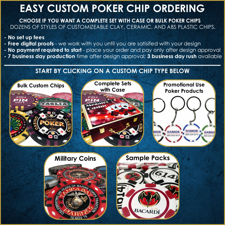 Pokerchiplounge.com Custom Poker Chips