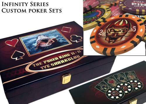 Infinity Clay Custom Poker Chip Set Special